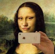 selfie-joconde