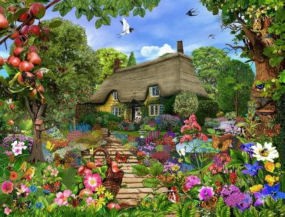 english-cottage-garden-mgl-meiklejohn-graphics-licensing